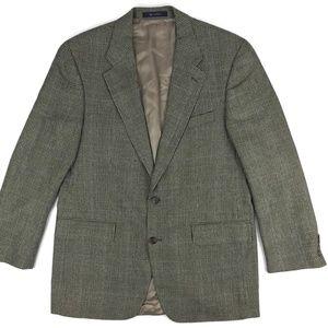 Polo University Club Silk Wool Blazer Mens Sz 42T